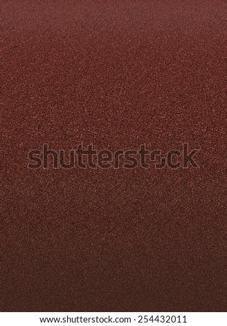 Coarse grit sandpaper, abstract brown illustration - stock photo