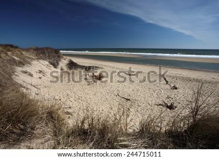 Coast Guard Beach, Cape Cod, Massachusetts, USA - stock photo