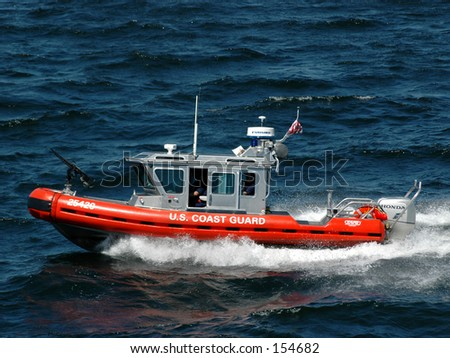 Coast Guard Patrol - stock photo