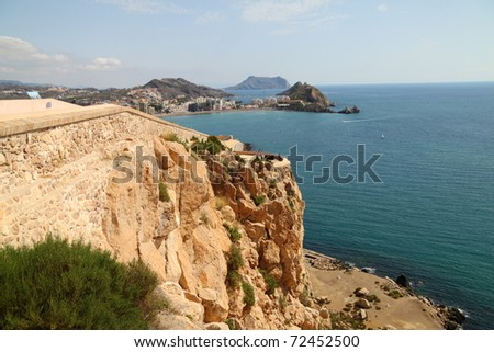 Coast of Aguilas - stock photo