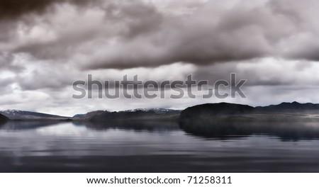 Coast of Iceland - stock photo
