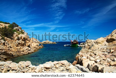 Coast of La Maddalena