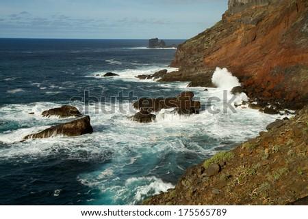 coast of La Palma - stock photo