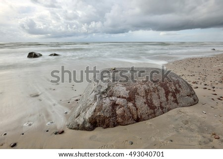 Coast of the Baltic Sea, North Europe