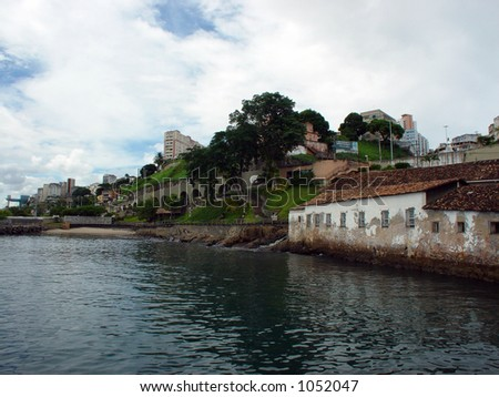 Coast - Salvador de Bahia, Brazil - stock photo