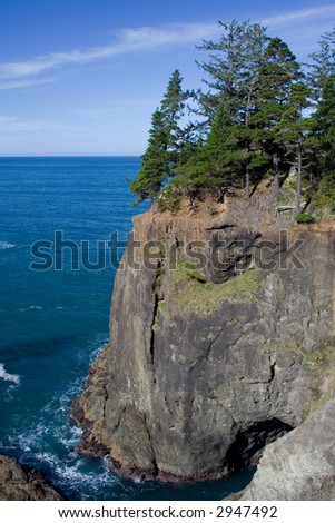 Coastal Cliffs - stock photo