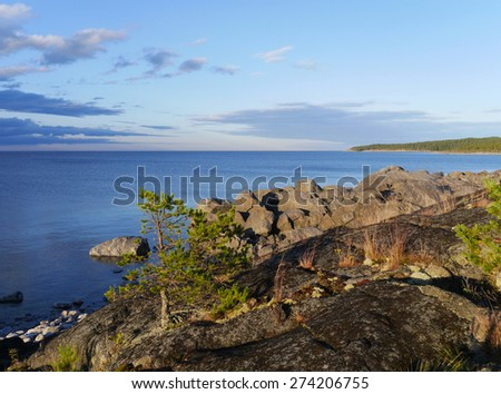 coastal landscape in sweden