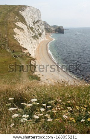 coastal path in Dorset