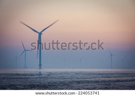 Coastal wind power