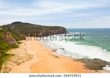 coastline of Australia - stock photo