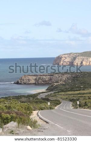 Coastline of Innes National Park - stock photo