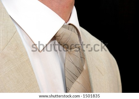 Coat and tie - stock photo