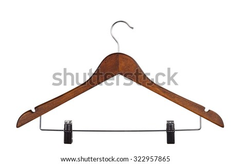 Coat hanger - stock photo