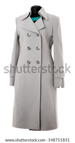 coat isolated on a white background