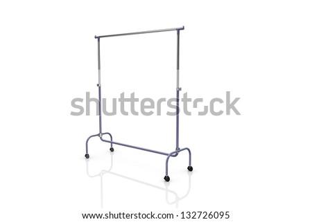 Coat rack - stock photo