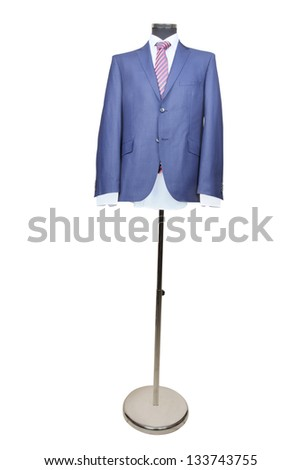 coat under the white background