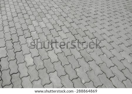 cobblestone  background - stock photo