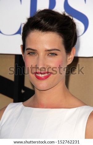 Cobie Smulders at the CBS, Showtime, CW 2013 TCA Summer Stars Party, Beverly Hilton Hotel, Beverly Hills, CA 07-29-13