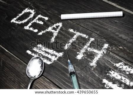 cocain - stock photo