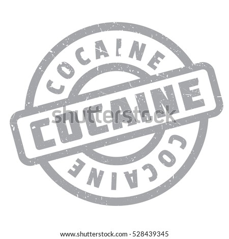 Cocaine rubber stamp. Grunge design with dust scratches. Effects can be easily removed for a clean, crisp look. Color is easily changed.