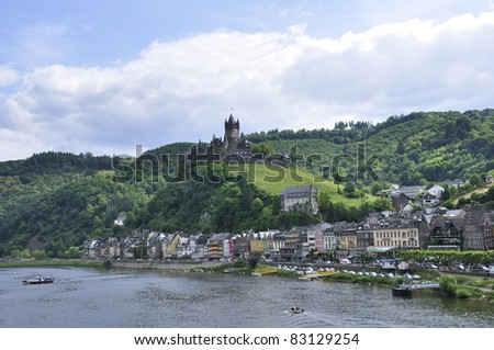 Cochem, Germany - stock photo
