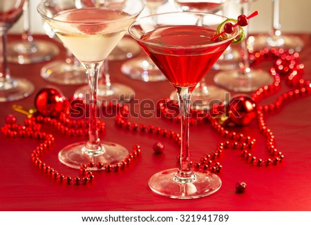 Cocktail drinks  - stock photo