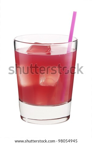 Cocktail glass herbal breeze - stock photo