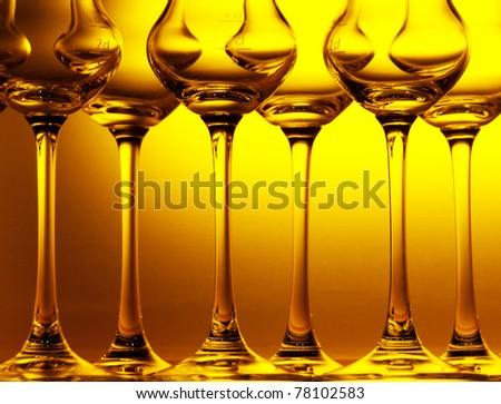 Cocktail glasses - stock photo