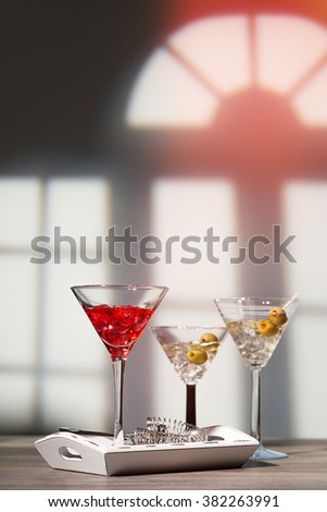 Cocktail party at a Georgian manor house - stock photo