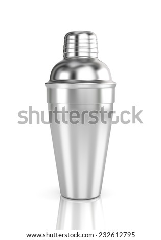 Cocktail shaker - stock photo