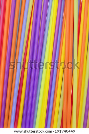 Cocktail Straws Background
