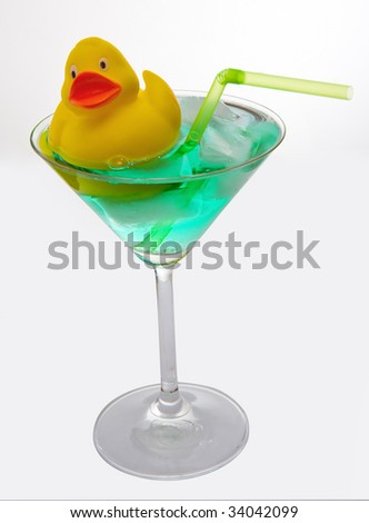 cocktail with funny decoration