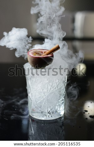 Cocktail with ice