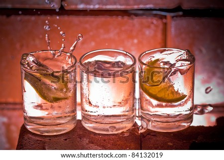 Cocktails - stock photo