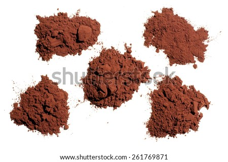 Cocoa Powder - stock photo