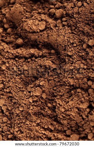 cocoa powder, background