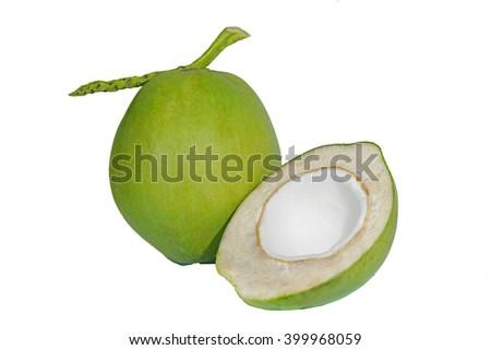 coconut 1 - stock photo
