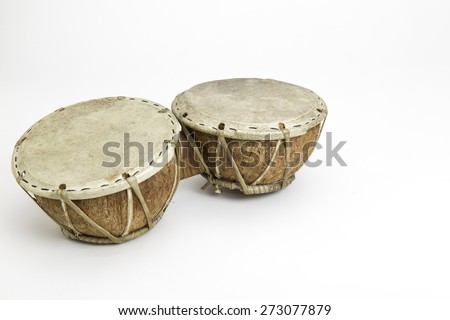 coconut bongo - stock photo
