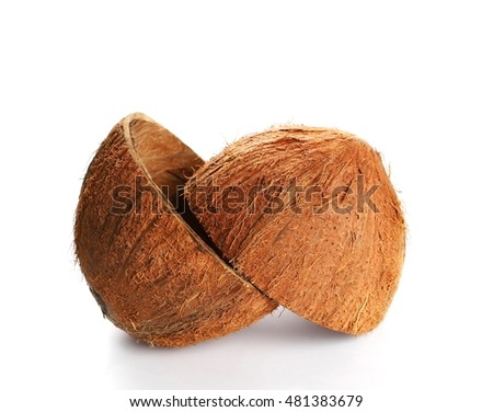 how to cut coconut shell