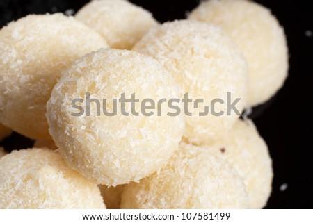 Coconut sweet - stock photo