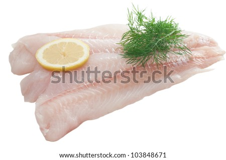 Cod Fillet - stock photo