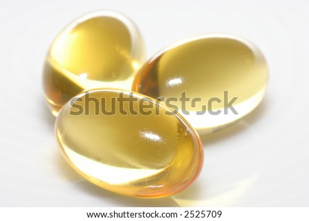 cod liver drug closeup