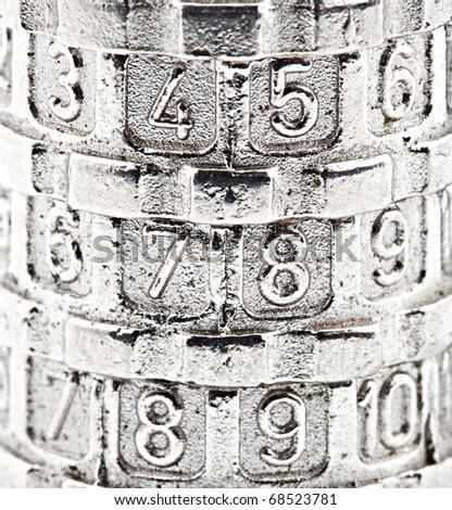 code lock - stock photo