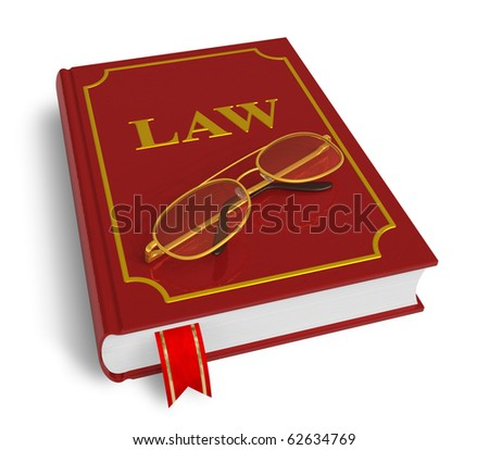 Code of laws - stock photo