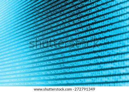 Code programming abstract screen of software developer. Computer script. (MORE SIMILAR IN MY GALLERY) - stock photo