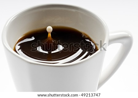 cofedrop - stock photo