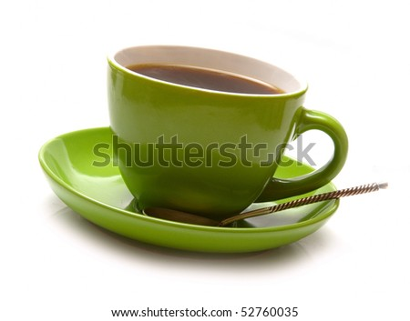 coffee abstract - stock photo