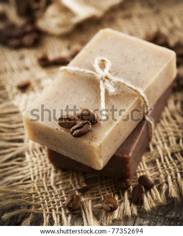 Coffee and Chocolate handmade soap.Organic spa.Anti-cellulite treatments.