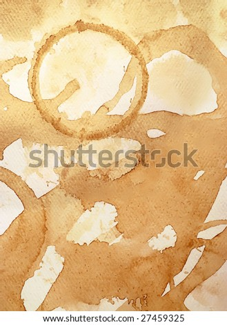 coffee and tea stained textured paper