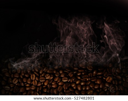 Coffee background with space for text